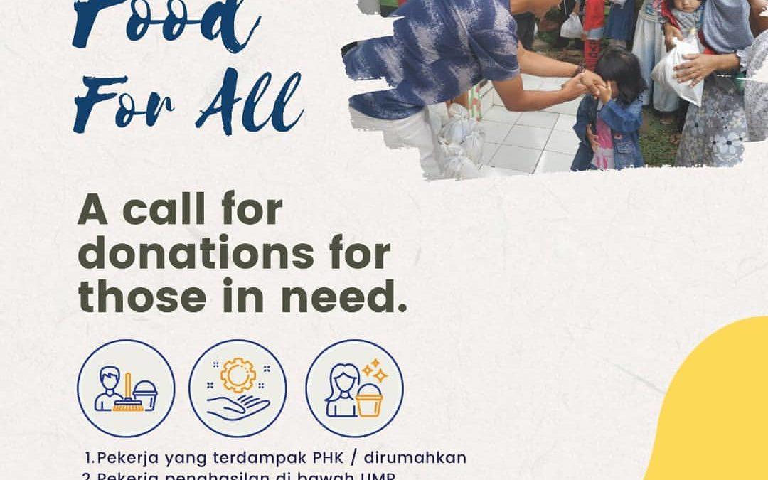 """Pertanyaan yang sering diajukan (FAQ) Pendonor """"Food For All"""""""