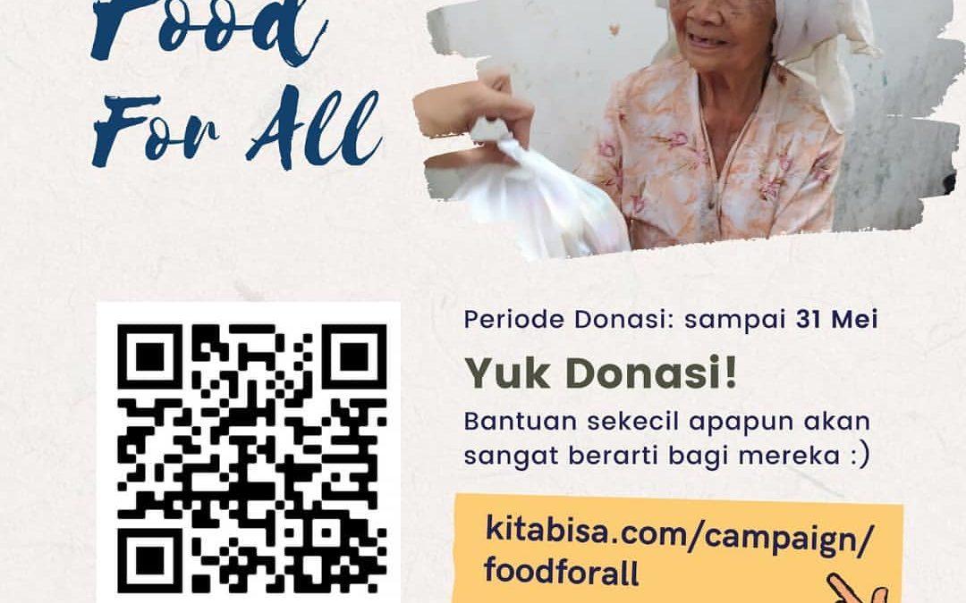 FOOD FOR ALL Campaign (Untuk Mereka Yang Terdampak PHK)